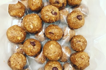 Chocolate Chip- Peanut Butter Cookie Dough- Protein Balls, Oh my!